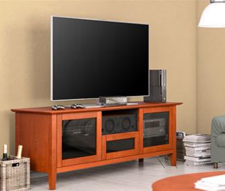 AV Basics cabinet by Salamander Designs