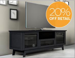 20% off AV Basics Cabinets
