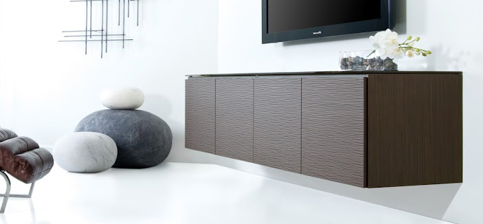 Contemporary AV Cabinets