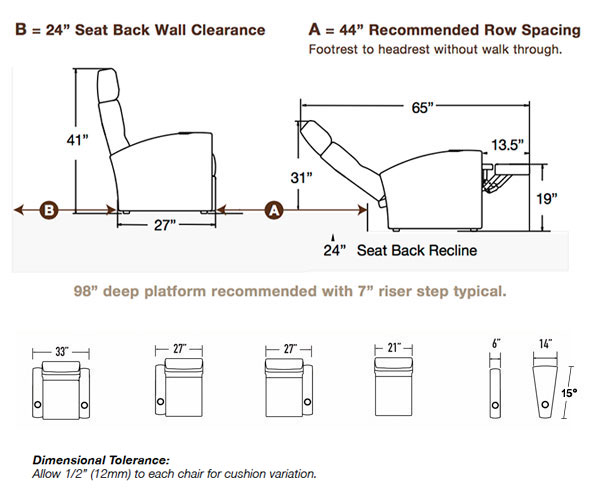 Matteo Seating Specifications
