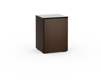 Berlin 317, Single-Width Audio Cabinet, Textured Wenge