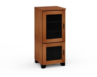 Elba 217, Single-Width Audio Cabinet, American Cherry