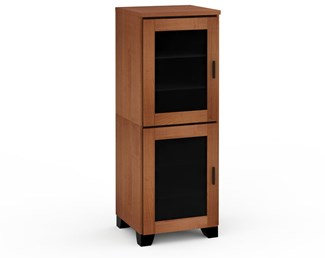Elba 617, Single-Width Audio Cabinet, American Cherry