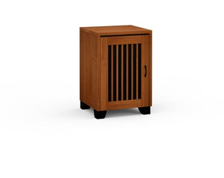 Sonoma 317, Single-Width Audio Cabinet, American Cherry