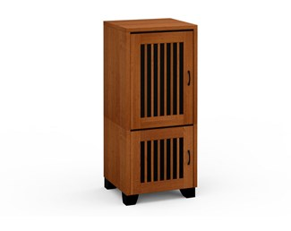 Sonoma 217, Single-Width Audio Cabinet, American Cherry