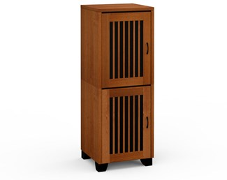 Sonoma 617, Single-Width Audio Cabinet, American Cherry