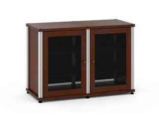 Synergy Single Box 323- Walnut with Aluminum Posts