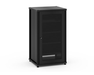 Synergy Single Box 402- Black with Black Posts