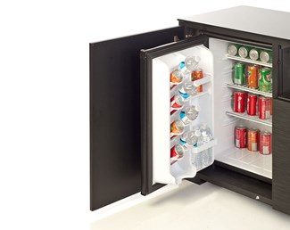 In-cabinet refrigerator