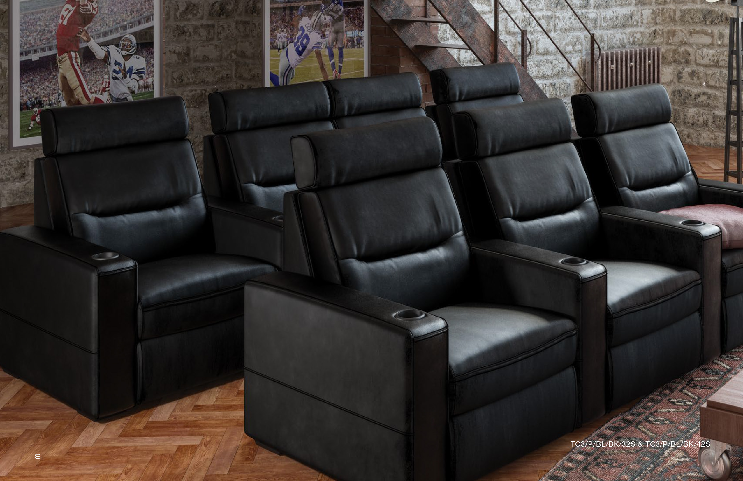 AV Basics Theater Seating