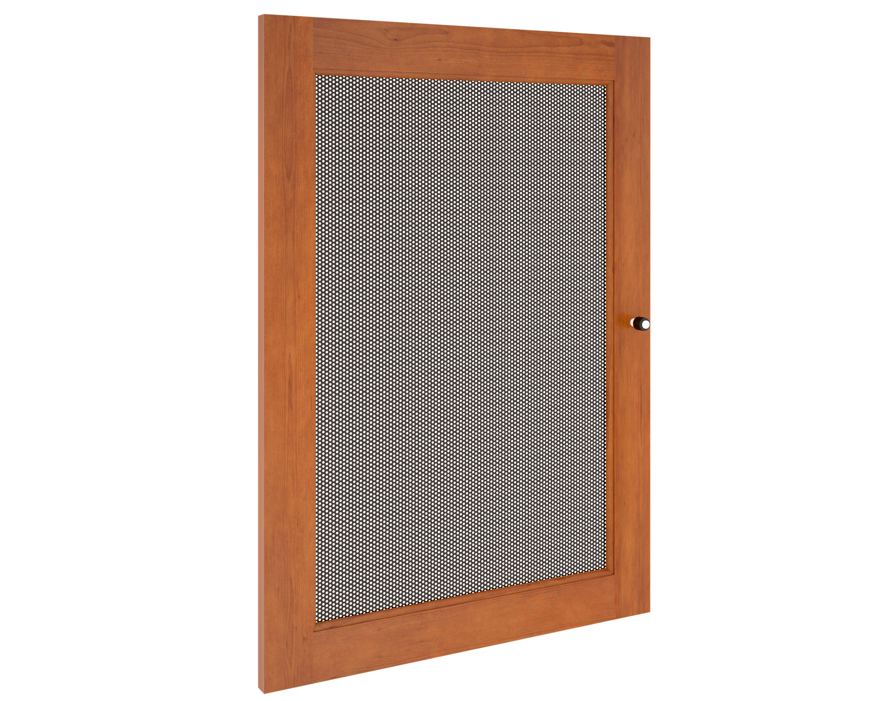 Synergy S30 Door Cherry With Perforated Steel Insert  sc 1 st  MF Cabinets & Perforated Cabinet Doors | MF Cabinets pezcame.com