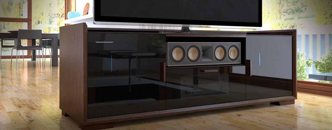 Salamander: SDVA2: Audio Visual Equipment Cabinet | Home Entertainment  Center AV Furniture