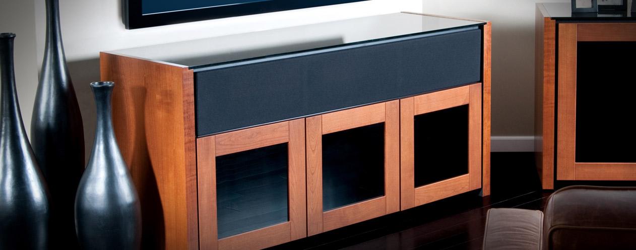 salamander: speaker integrated cabinets